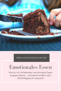 Emotionales Essen stoppen