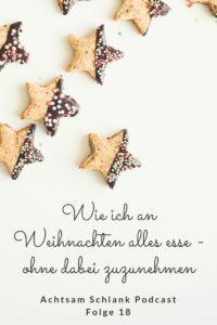 Schlank an Weihnachten bleiben