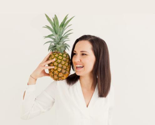 Sandra Strixner vom Brainfood Magazin
