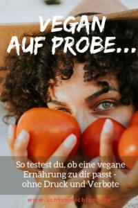 leichter Einstieg in eine vegane Ernährung