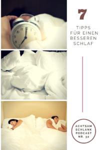 7 Tipps für einen besseren Schlaf